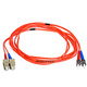 Product image for Fiber Optic Cable, ST/SC, Multi Mode, Duplex -  3 meter (62.5/125 Type)