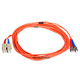 Product image for Fiber Optic Cable, ST/SC, Multi Mode, Duplex -  5 meter (62.5/125 Type)
