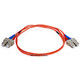 Product image for Fiber Optic Cable, SC/SC, Multi Mode, Duplex -  1 meter (62.5/125 Type)