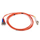Product image for Fiber Optic Cable, LC/ST, Multi Mode, Duplex -  2 meter (62.5/125 Type)