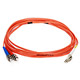 Product image for Fiber Optic Cable, LC/ST, Multi Mode, Duplex -  3 meter (62.5/125 Type)