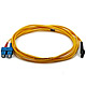 Product image for Fiber Optic Cable, MTRJ (Male)/SC, Single Mode, Duplex - 3 meter (9/125 Type)