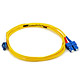 Product image for Fiber Optic Cable, LC/SC, Single Mode, Duplex - 3 meter (9/125 Type)