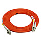 Product image for LC/PC-LC/PC, MM, Duplex, 62.5/125, 2.0MM DIA. 5 Meter-(Patch Cord/Jumper)