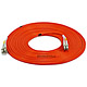 Product image for LC/PC-LC/PC, MM, Duplex, 62.5/125, 2.0MM DIA. 15 Meter-(Patch Cord/Jumper)
