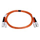 Product image for SC/PC-SC/PC, MM, Duplex, 62.5/125, 3.0MM DIA. 1 Meter-(Patch Cord/Jumper)