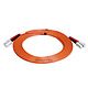 Product image for SC/PC-SC/PC, MM, Duplex, 62.5/125, 3.0MM DIA. 5 Meter-(Patch Cord/Jumper)