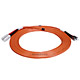 Product image for SC/PC-ST/PC, MM, Duplex, 62.5/125, 3.0MM DIA. 5 Meter-(Patch Cord/Jumper)